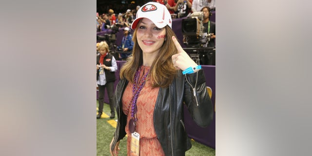 NEW ORLEANS, LA - FEBRUARY 03: Katharine McPhee attends the Pepsi Super Bowl XLVII Pregame Show at Mercedes-Benz Superdome on February 3, 2013 in New Orleans, Louisiana. (Photo by Christopher Polk/Getty Images)