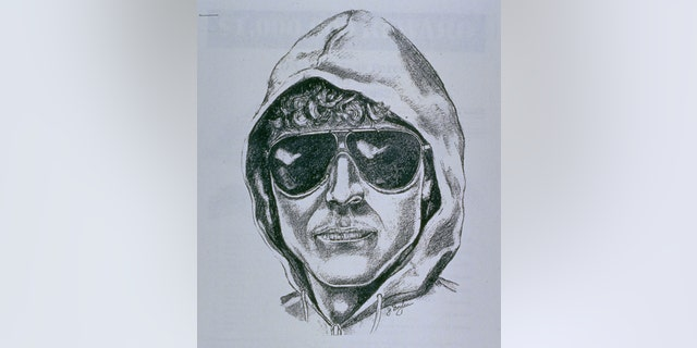 A revised FBI sketch of serial bomber known as the Unabomber, based on witness recollection.
