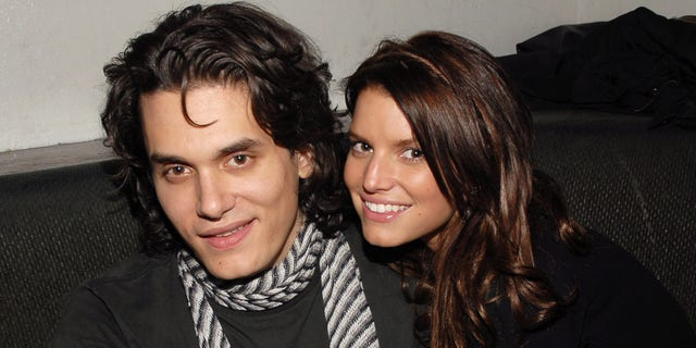 John Mayer and Jessica Simpson in 2007.