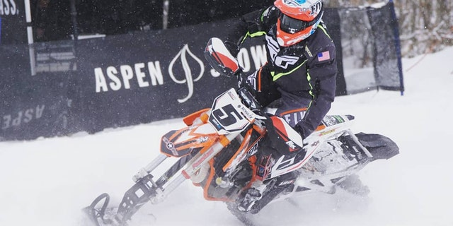 """The new technology is designed to help """"Monster"""" Mike Schultz, who is a nine-time X Games gold medalist and a gold and silver medalist from the 2018 Paralympic Winter Games in snowboarding, compete. (""""Monster"""" Mike Schultz)"""