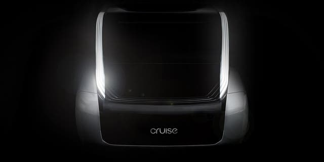 This teaser image accompanied Honda's announcement that it was investing in Cruise.