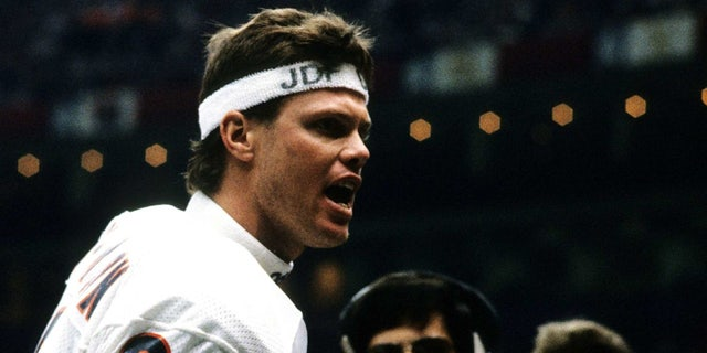 Jim McMahon led the Bears to a Super Bowl victory. (Photo by Scott Cunningham/Getty Images)