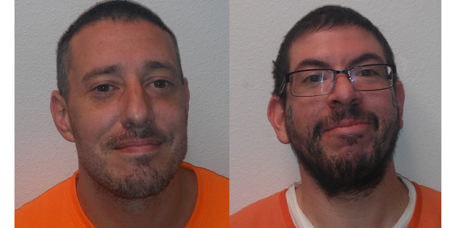 Jerry Williams, 39, and Bryan Webb, 30, are considered fugitives after they police custody by overpowering the detention center deputy