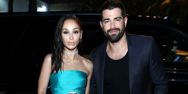 Cara Santana and Jesse Metcalfe attend The Art Of Elysium Presents WE ARE HEAR'S HEAVEN 2020 at Hollywood Palladium on January 04, 2020 in Los Angeles, Calif.
