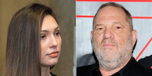 Jessica Mann read her victim statement at Harvey Weintein's sentencing on Wednesday.