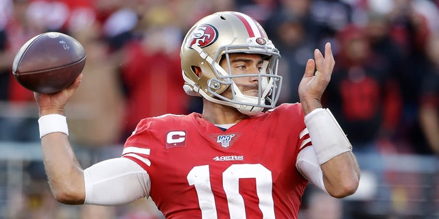 Westlake Legal Group Jimmy-Garoppolo4 49ers vs. Packers: 5 things to know about the NFC Championship game Ryan Gaydos fox-news/sports/nfl/san-francisco-49ers fox-news/sports/nfl/green-bay-packers fox-news/sports/nfl fox news fnc/sports fnc de8dbeec-5874-5fa1-a9b4-765526c60c4b article