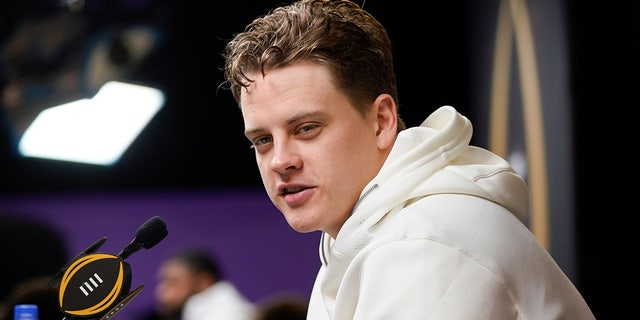 Joe Burrow had a great statistical senior season. (AP Photo/David J. Phillip).
