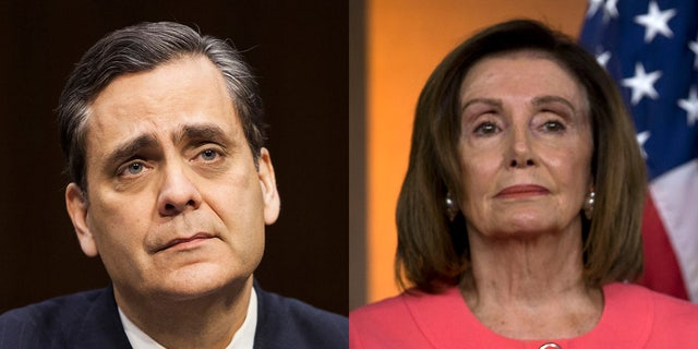 "Jonathan Turley blasted ""partisan troll"" House Speaker Nancy Pelosi."
