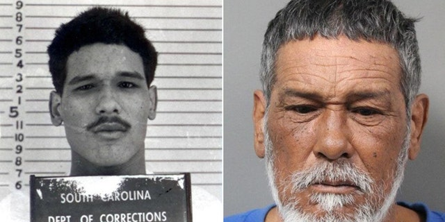 Jose Romero mugshots from the 1970s and this week in Dover, Delaware
