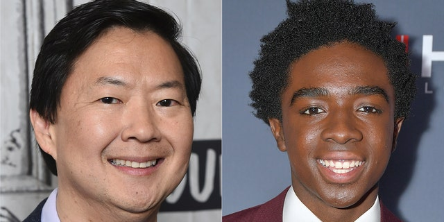 "Actor and ""The Masked Singer"" panelist Ken Jeong, left, and ""Stranger Things"" star Caleb McLaughlin are teaming up with the American Cancer Society and the National Football League's Crucial Catch Campaign in a concentrated effort to combat cancer."