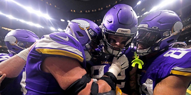 Westlake Legal Group Kyle-Rudolph3 49ers vs. Vikings: NFC Divisional Round preview, times & more Ryan Gaydos fox-news/us/us-regions/west/california fox-news/sports/nfl/san-francisco-49ers fox-news/sports/nfl/minnesota-vikings fox-news/sports/nfl fox news fnc/sports fnc article 1882e243-71d4-5cdf-905a-dc62e1e51aaf