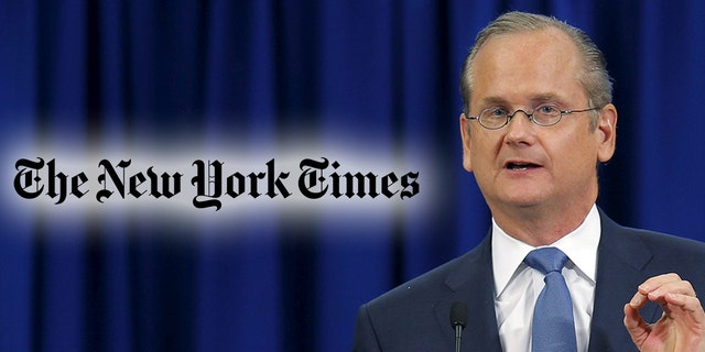 Lawrence Lessig, seen here in 2015, sued The New York Times for defamation.