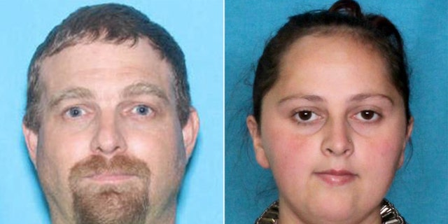 Shaun Levy and Brittany Parrie were arrested in Monroeville, Ala., after escaping a hospital with their newborn baby, according to police.