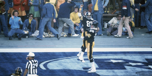 Lynn Swann had a great Super Bowl performance. (Photo by Focus on Sport via Getty Images)