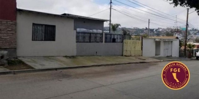 The house in Mexico where a missing California landlord and his wife were found buried, allegedly killed by their son-in-law.