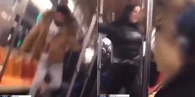 Westlake Legal Group NYPD_Crimestoppers_1 NYC subway brawl shows man kicking, dragging woman in train who punches him back Travis Fedschun fox-news/us/us-regions/northeast/new-york fox-news/us/crime fox news fnc/us fnc c48fc134-161c-5a6a-b7d7-3c6815c500b1 article