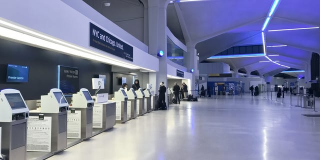 The prisoner reportedly disappeared during a routine trip to the bathroom at Terminal C at Newark Airport.