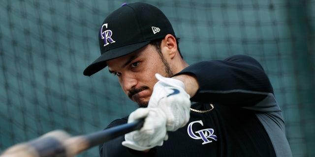 Nolan Arenado hopes 2021 will be his year. (AP Photo/David Zalubowski, File)
