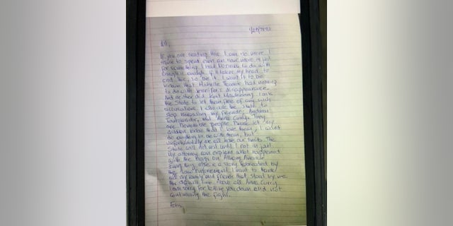 Westlake Legal Group Note Suicide note found from Fotis Dulos, Connecticut man charged in wife's murder: 'Enough is enough' Louis Casiano fox-news/us/us-regions/northeast/connecticut fox-news/us/crime/homicide fox-news/topic/missing-persons fox news fnc/us fnc article 85b0dfc8-6e99-5ed1-880c-9f138d2115ab