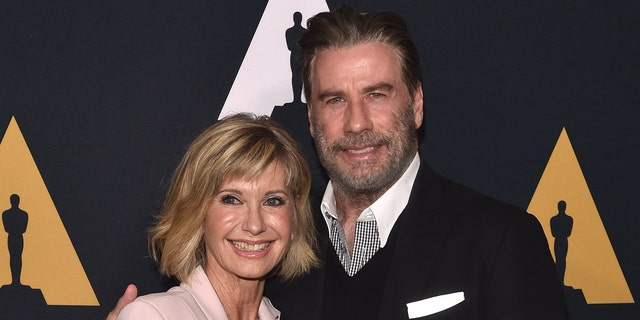 Olivia Newton-John said she still stays in touch with her 'Grease' castmates including John Travolta.