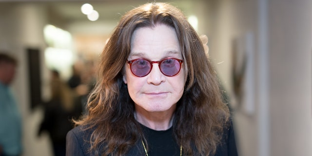 Singer Ozzy Osbourne attends the Billy Morrison - Aude Somnia Solo Exhibition at Elisabeth Weinstock on September 28, 2017, in Los Angeles, California.