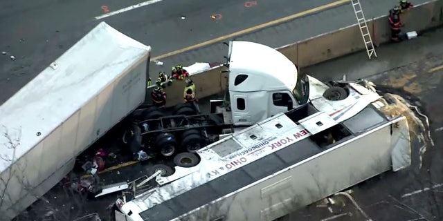 Multiple people were killed after a major crash on the Pennsylvania Turnpike early Sunday.