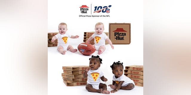 Pizza Hut introduced a similar promotion last year, albeit for the first baby — not twins — to be born after kickoff.