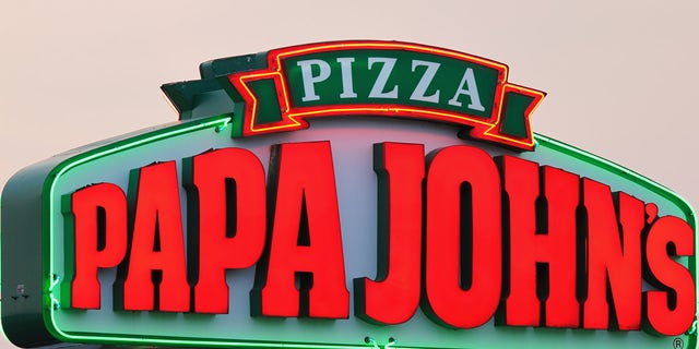 US News Shortly after stealing the vehicle, the thief discarded the light-up Papa John's sign on top of the car, which was equipped with a GPS device.