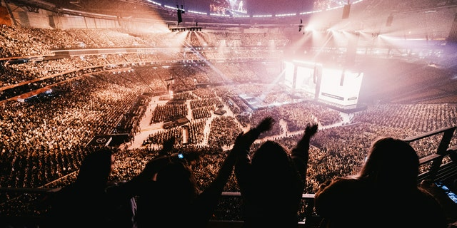 More than 65,000 students attended Passion 2020 this year.