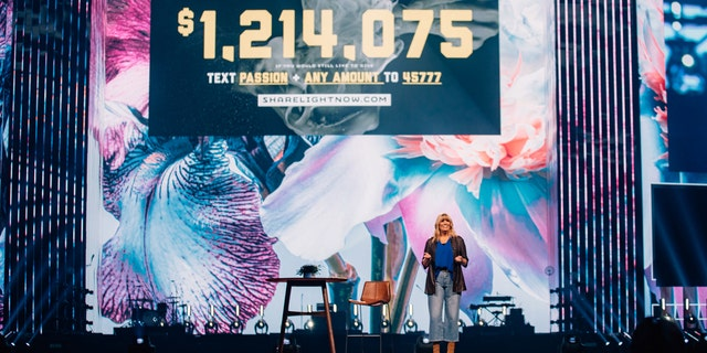 Passion co-founder Shelley Giglio announced the total students raised during Passion 2020 reaching over $200,000 more than their $1 million goal to help get the Bible translated for every person on the planet.