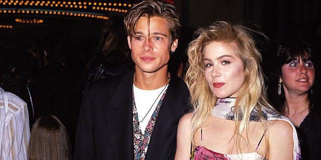 Brad Pitt and Christina Applegate went on one date to the MTV Movie Awards in 1989 where she admitted to ditching him for another guy.