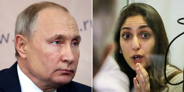 Russian President Vladimir Putin is meeting with the mother of Naama Issachar, an Israeli backpacker serving prison time in Russia on a drug conviction is appealing her case and says she was wasn't provided a translator or lawyer after being detained at a Moscow airport.