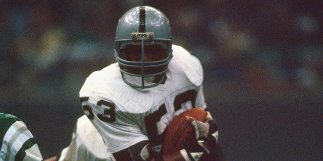 Linebacker Rod Martin has the Super Bowl record. (Photo by Focus on Sport/Getty Images)