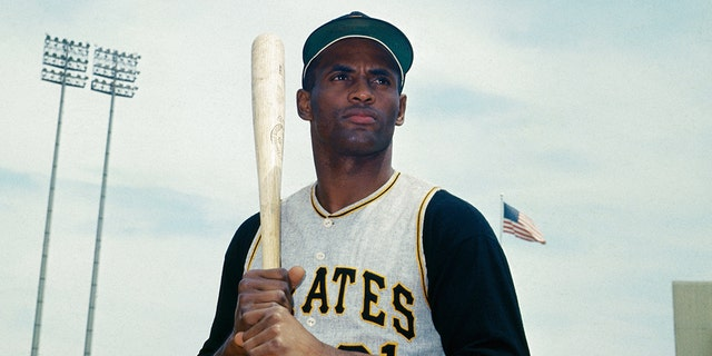 7/10/1967- New York: Closeup of Roberto Clemente, Pittsburgh Pirates outfielder, June 27th. (Getty)