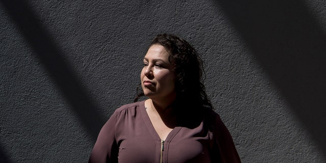 PHOENIX, ARIZONA - JULY 4: Ruby Torres stands for a portrait in her apartment complex in Phoenix, Arizona on July 4, 2018. (Photo by Carolyn Van Houten/The Washington Post via Getty Images)
