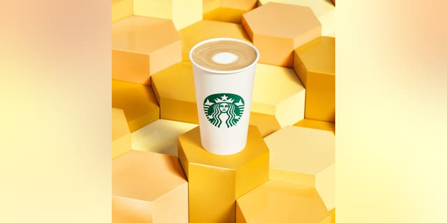Per the press release, the Oatmilk Honey Latte will be made with Starbucks Blonde Espresso, a Honey Blend infusion and steamed oat milk, topped off with a sweet honey topping.