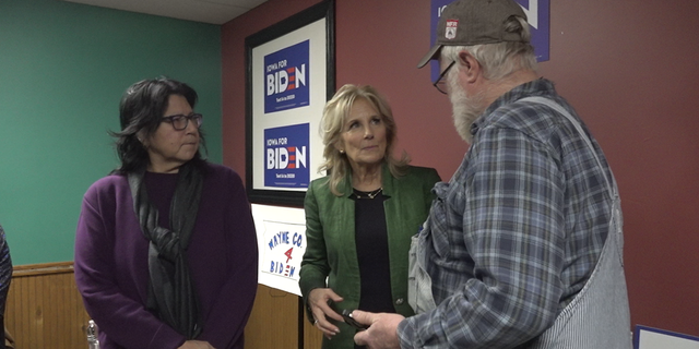 With a schedule almost as extensive as her husband's, former Second Lady Dr. Jill Biden has been crisscrossing the Hawkeye State, making stops in rural districts where support could give her husband an edge to win on caucus night.