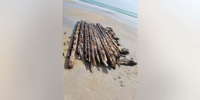 Westlake Legal Group ShipwreckFarrell2 Shipwreck linked to mutiny and murder mystery 'disappears' on North Carolina beach James Rogers fox-news/science/archaeology/history fox-news/science/archaeology/culture fox-news/science fox-news/columns/digging-history fox news fnc/science fnc article 61739d43-31a1-59a5-a8a9-f2db3a631827