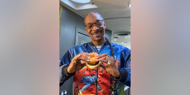 "Together with Dunkin', Snoop announced on Monday the debut of its new ""Beyond D-O-Double G Sandwich,"" a breakfast sandwich made with a plant-based Beyond Breakfast Sausage?patty, egg, cheese, and two glazed doughnut halves for buns."