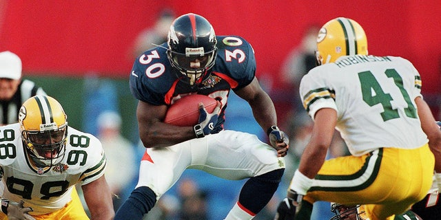 Terrell Davis is one of the best running backs to play in a Super Bowl. (DON EMMERT/AFP via Getty Images)