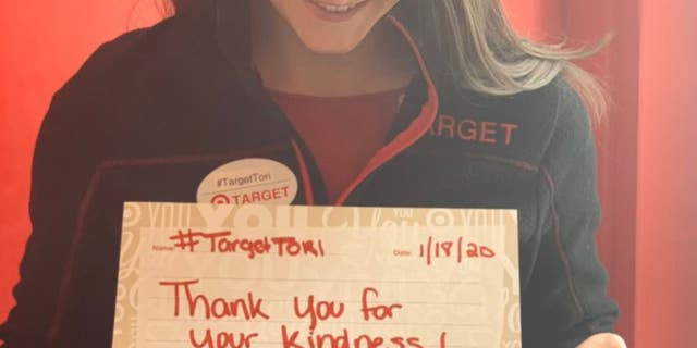 A GoFundMe set up for Tori Perrotti raised more than $30,000 after a Target customer tried to shame the store manager her over her refusal to sell him a mistakingly-priced toothbrush.