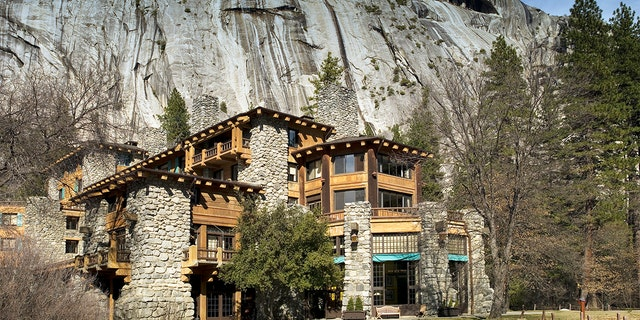 The Ahwahnee Hotel in Yosemite National Park, California where two peole reported feeling ill after visiting earlier this month. (Photo by Carol M. Highsmith/Buyenlarge/Getty Images)