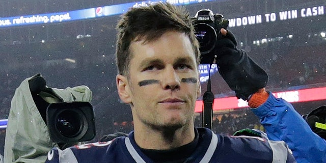 New England Patriots quarterback Tom Brady leaves the field after losing an NFL wild-card playoff football game to the Tennessee Titans, Saturday, Jan. 4, 2020, in Foxborough, Mass. (AP Photo/Charles Krupa)