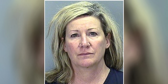 Trisha Ebbs, 50, was arrested for disorderly conduct.