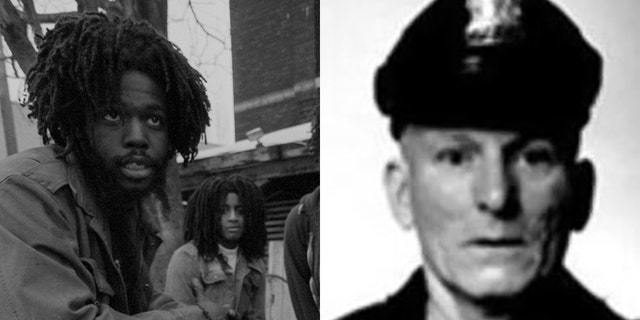 Delbert Orr Africa, on the left, served more than four decades in prison in connection with the death of Philadelphia police officer James Ramp. (Getty Images / Philadelphia Police Department)