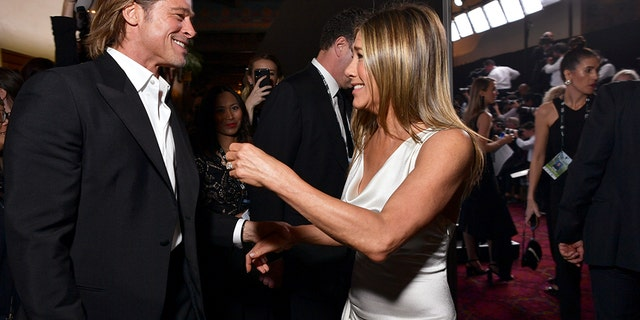 Westlake Legal Group annistonpitt-cropped-1111pm Brad Pitt has 'apologized' to Jennifer Aniston for past relationship issues: report Melissa Roberto fox-news/person/jennifer-aniston fox-news/person/brad-pitt fox-news/entertainment/events/marriage fox-news/entertainment/events/divorce fox-news/entertainment/events/couples fox-news/entertainment/celebrity-news fox news fnc/entertainment fnc article 7b56e91e-1a3b-5536-a67b-c536708a9fcb