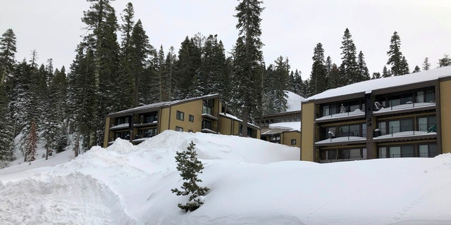 Snow drifts pile up at Alpine Meadows ski resort in Alpine Meadows, Calif. on Friday, Jan. 17, 2020. An avalanche Friday at a Lake Tahoe ski resort killed one skier and seriously injured another a day after a storm dumped large amounts of snow throughout the picturesque area. (AP Photo/Scott Sonner)