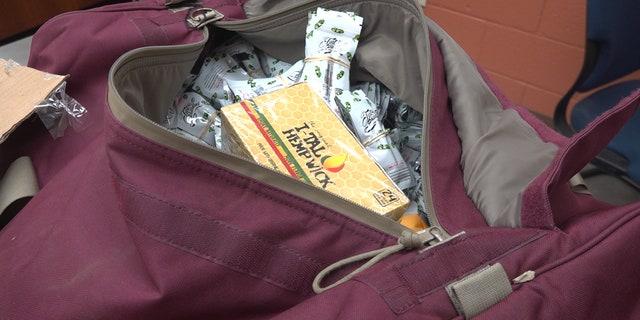 Crude oil vaping cartridges seized from operation near Phoenix. (Stephanie Bennett/Fox News)