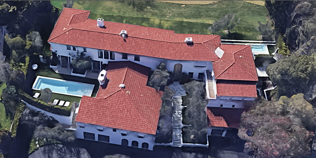 Lori Loughlin and Mossimo Giannulli's Bel-Air home (Google Street View)