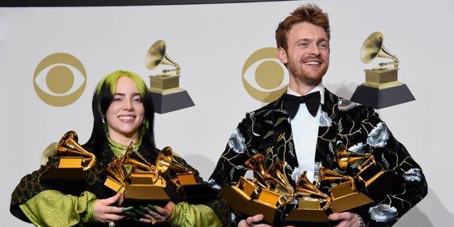 Westlake Legal Group billiefin Grammy Awards: Billie Eilish makes history Jessica Napoli fox-news/entertainment/music fox-news/entertainment/events/grammys fox news fnc/entertainment fnc article 0c0c0ac7-925e-52c2-9a33-1fd4dff0999f